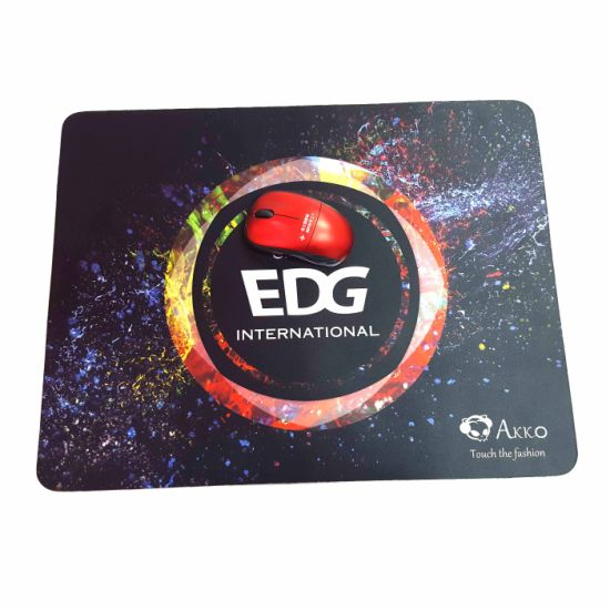 Non Slip Custom Printing Computer Game Accessory Rubber Game Mouse Pad pictures & photos