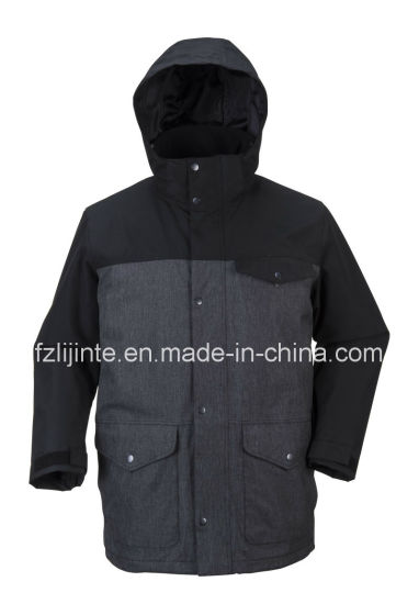 Windproof Outdoor Jacket Warm Winter Outer Wear pictures & photos
