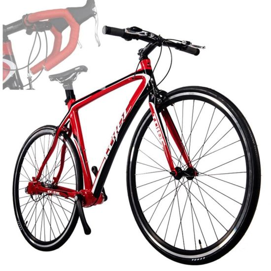 R100 6061 Aluminium Alloy 700c Inch Road Bike Taiwanese Tech Shiman Inner 3  Speed Amazing Style Shaft Drive Chainless Bicycle
