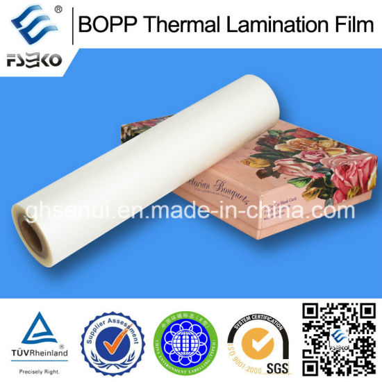 BOPP Thermal Film with EVA Glue for Offset Printing pictures & photos