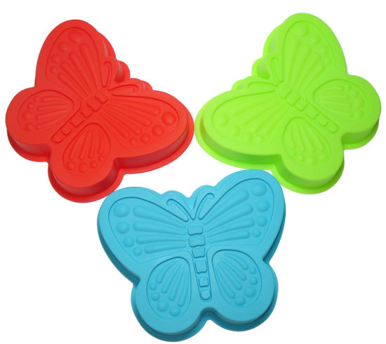 Butterfly Shape Silicone Cake Mold and Chocolate Cupcake Baking Mold