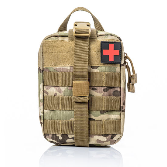 US Tactical First Aid Kit Survival Molle Rip-Away EMT Pouch Bag Medical Camping