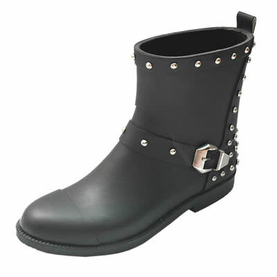 High Quality Ladies Fashion Rubber Waterproof Boots
