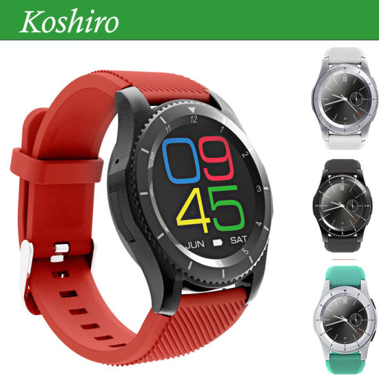 Bluetooth 4.0 Heart Rate Smart Watch Mobile Phone pictures & photos