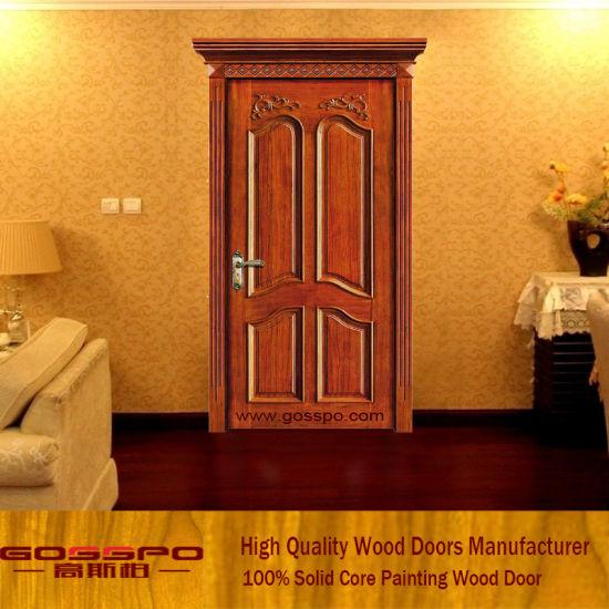 cheap wood carving bedroom door gsp2 063 - Cheap Bedroom Doors