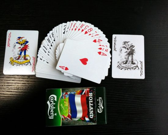 Carlsberg Beer Poker Playing Cards for Euro Cup pictures & photos