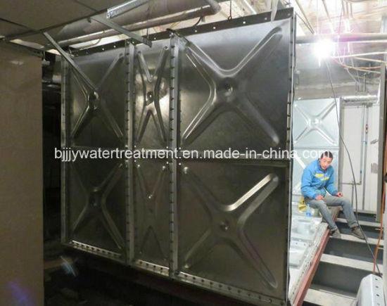 China Pressed Steel Galvanized Water Storage Tank/ Water