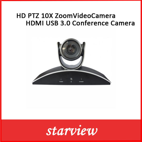 HD PTZ 10X Zoom Video Camera HDMI USB 3.0 Conference Camera pictures & photos