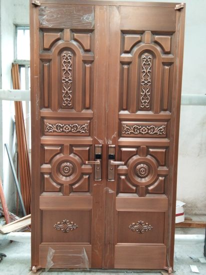 Woodwin Hot Seller Handmade Pure Copper Door Security Door & China Woodwin Hot Seller Handmade Pure Copper Door Security Door ...