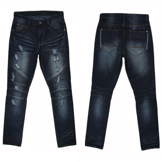 China Fashion Design Men S Straight Denim Jeans Myx06 China Men