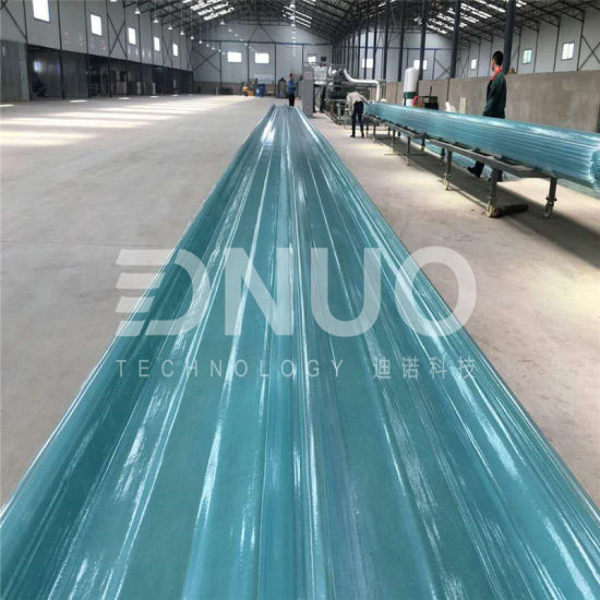 FRP Polyester Fabric Roof Tiles Sheet Making Machine with Resin