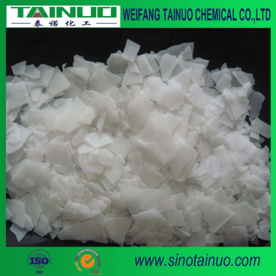 Sodium Hydroxid/Caustic Soda Flakes/Pearl for Water Treatment Industries pictures & photos