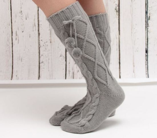 Wholesale High Quality Slipper Socks pictures & photos
