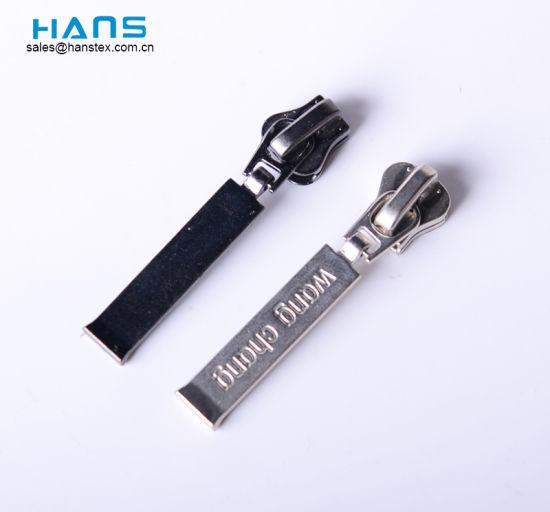 Hans Non Lock Custom Metal Zipper Pull