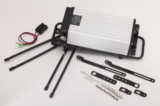Hot Sale in European Electric Bicylce Lithium Battery 48V 20ah Rear Rack pictures & photos