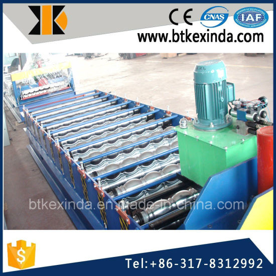 Kxd 1080 Glazed Tile Metal Roofing Sheet Making Machine pictures & photos