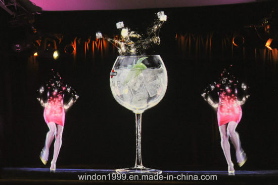 China Holographic Reflection Film / Transparent Holographic