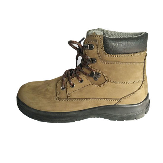 4a50d8304eb High Quality Nubuck Leather Work Boots for Women