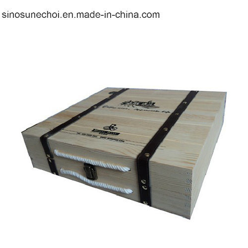China Customized Small Wooden Box with Lock for Watch