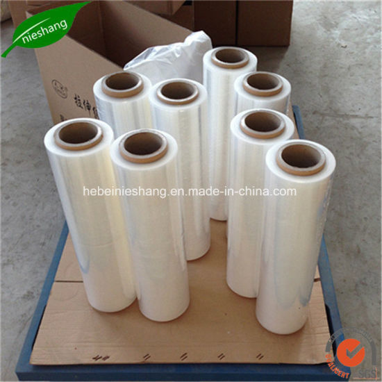 Stretch Film Pallet Wrap Film Extended Core 400mm X 300m pictures & photos