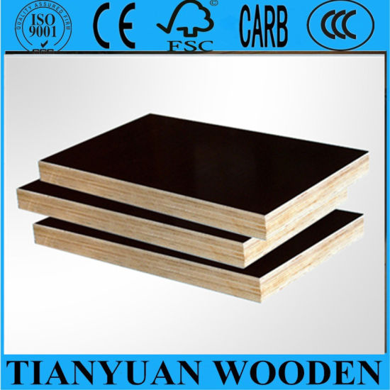 18mm Film Faced Plywood/Marine Plywood /Shuttering Plywood pictures & photos