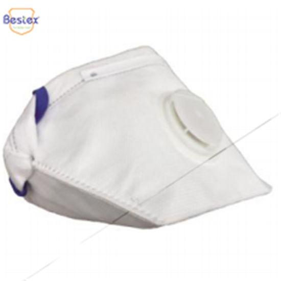 20 Face Mask Respirator FFP2 Sanding Paint Aerosol Dust Bodyshop Safety FoldFlat