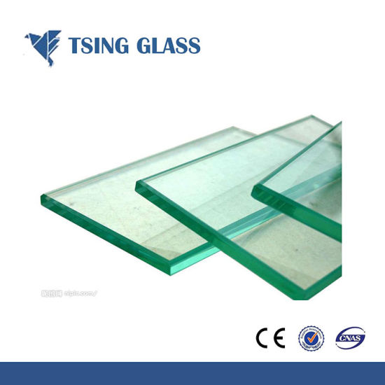 Ultra Clear Tempered Glass Toughened Glass for Handrails / Curtain Wall pictures & photos