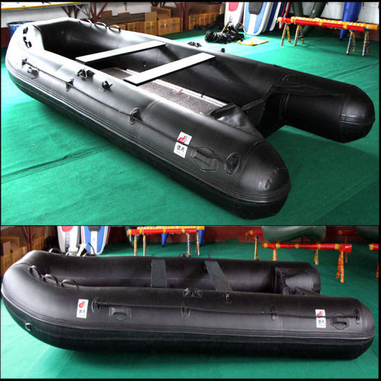 430cm PVC/Hypalon/Rubber Speed/Motor/Sport/Fishing Inflatable Boat