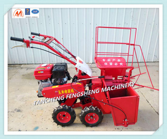 Mazie Corn Combined Harvesting machinery, Combined Harvester pictures & photos