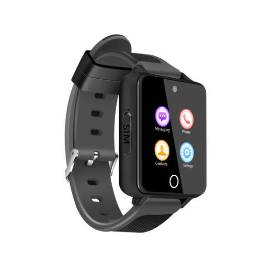 3G Android Smart Watch Phone with GPRS RAM 512MB ROM 4GB 240X240 Pixels  Resolution Screen