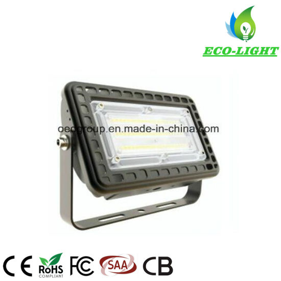 New Type 100W High Power Outdoor Waterproof Super Bright LED SMD Floodlight for Courtyard, Advertising Lighting