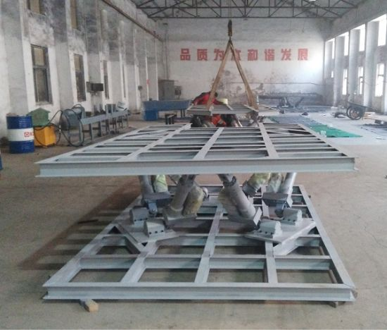 Linear Actuator 6dof Motion Platform for Flight Simulator 1200kgs