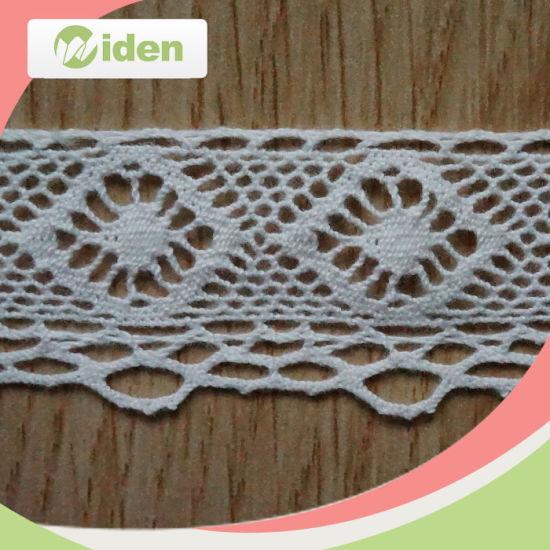 China Free Sample Available Wholesale Geometry Pattern Crochet Lace