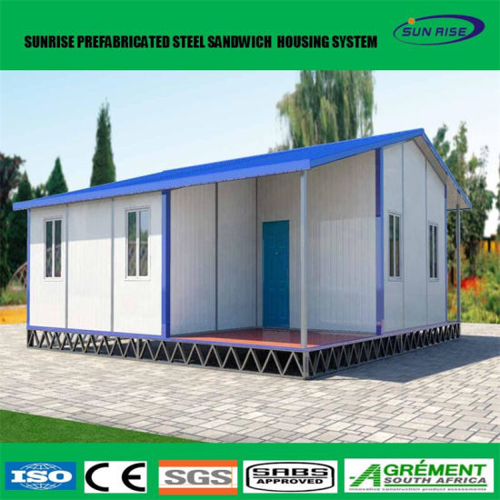 Low Cost Construction Site Prefab Expandable Container House Prefabricated  Villa