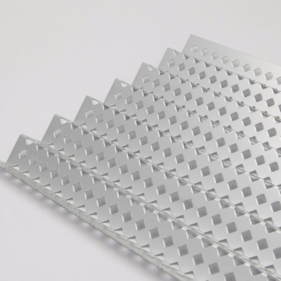 Square/ Round /Slotted/ Holes Perforated Metal Mesh/Stainless Steel/Aluminum/Galvanized Sheets