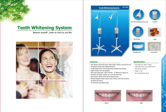 Laser Whitening MD666 Professional Teeth Whitening Cold Light Instrument