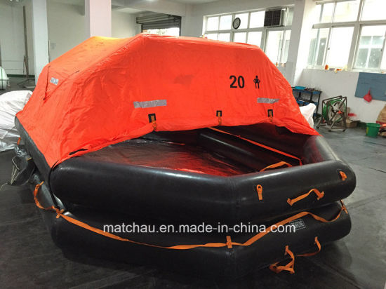 CCS Approved Self-Righting Davit-Launching Inflatable Liferaft pictures & photos