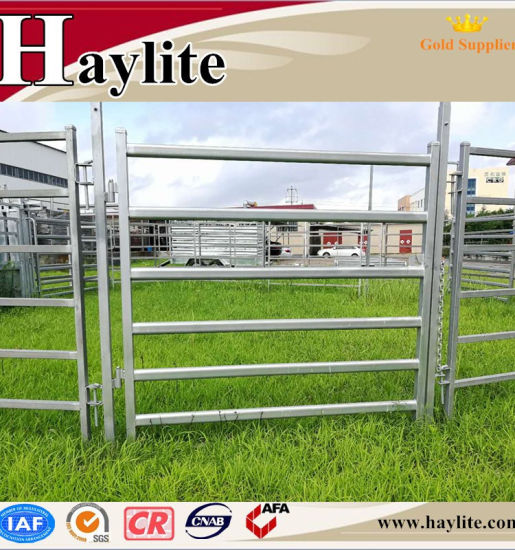Livestock Equipment Cattle Yard Fence Gate Qingdao Direct Supplier pictures & photos