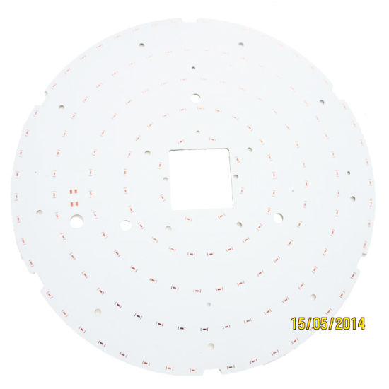 Single Sided 500mm Aluminum PCB for LED Lighting pictures & photos