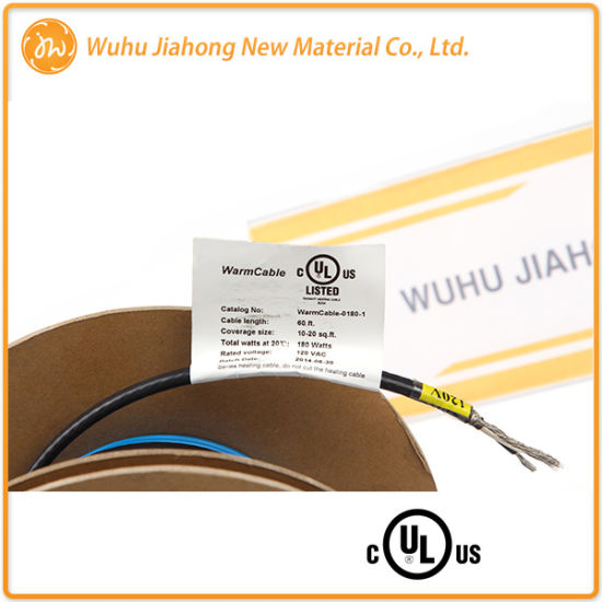 120V/240V Engineered Wood Floor Electric Warming Wire From OEM Factory