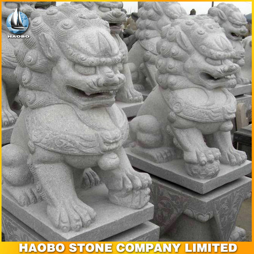 Granite Chinese Guardian Lions Customized pictures & photos