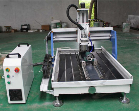 Small CNC Router 6090 with 4 Axis Rotary System pictures & photos