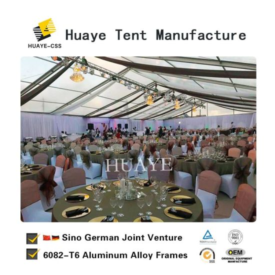 Clear Roof Elegant Transpa Wedding Tent With German Quality Hy010g