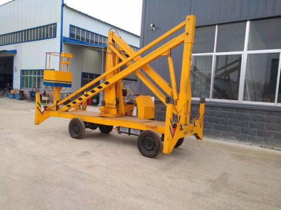 4 16m 200 kg china hot sale towable boom lift cherry picker for sale 4 16m 200 kg china hot sale towable boom lift cherry picker for sale with ce iso certification sciox Gallery