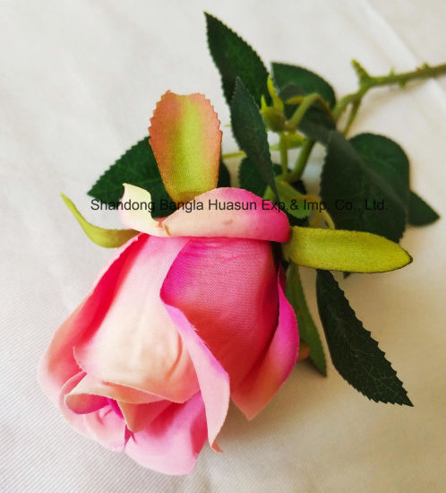 China artificial plastic silk flower single rose bud for wedding artificial plastic silk flower single rose bud for wedding decoration junglespirit Image collections