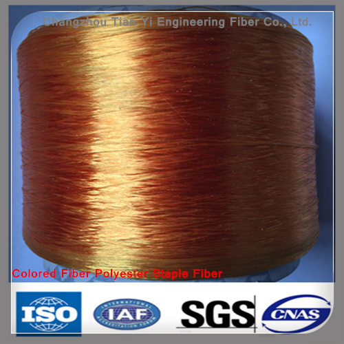 Polyester Fiber Colored Fiber Wall Cladding Additive Fibres pictures & photos
