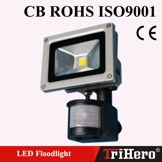 IP66 SMD LED Floodlight with Sensor pictures & photos