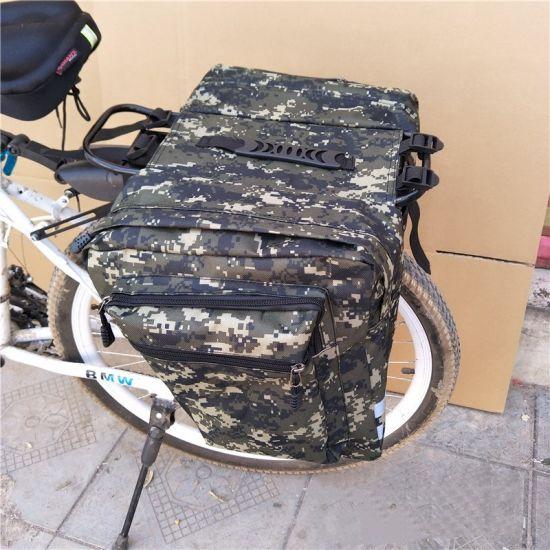 Camouflage Bicycle Rear Shelf Bag