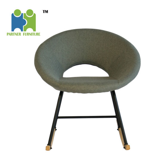 Terrific Victoria 2019 Hot Selling Comfortable Relax Soft Fabric Cover Rocking Chair Machost Co Dining Chair Design Ideas Machostcouk