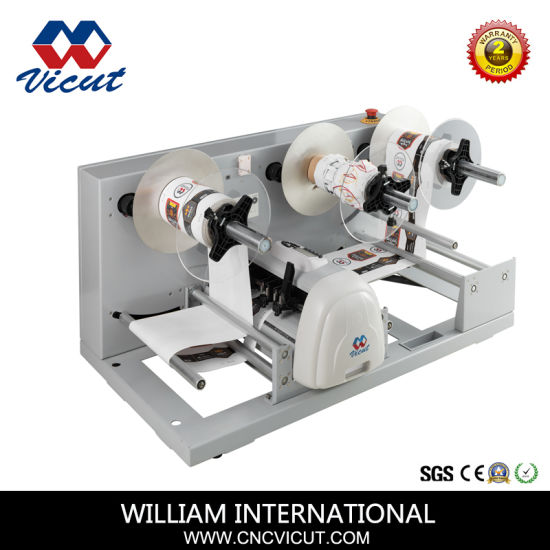 Full-Automatic Roll-Roll Continuous Free Adhesive Tape Label Die Cutter pictures & photos